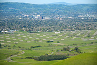 View of the Concord Naval Weapons Station from the Los Medanos Hills