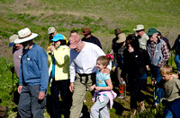 Mangini Ranch hike with Congressman George Miller