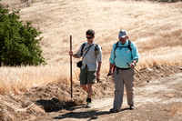 The first public hike on Save Mount Diablo's Highland Springs Property