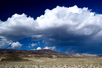 Thunderstorm over the Panamint Mountains