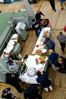 The Grand Barbecue on Deck at Port Lockroy