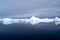 Grounded Icebergs in the Lemaire Channel