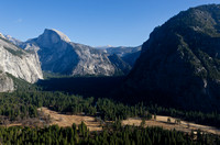 Yosemite Valley from the Upper Yosemite Falls Trail, Yosemite National Park
