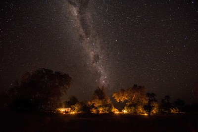 The Milky Way over Camp