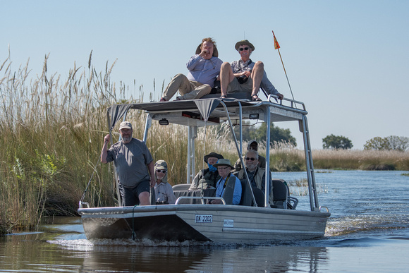 Boat Ride in the Okavango